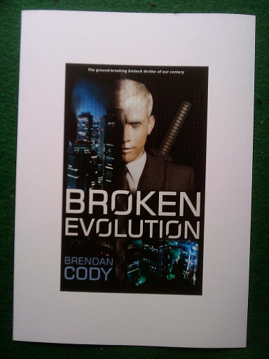 Broken Evolution Front Cover